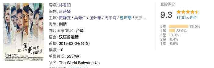 华语电视剧 豆瓣评分9.3分,这才是今年最好的华语电视剧!