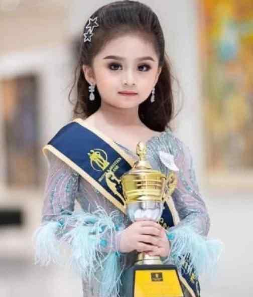 泰国6岁女童选美冠军  儿媳妇人选长什么样子(图)