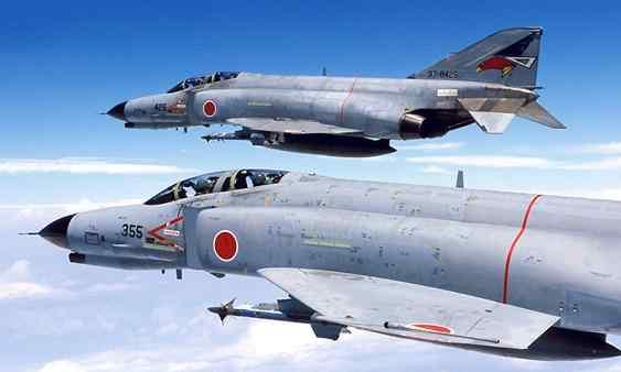 f4战斗机 日本70多架F4战机,已经使用了40年,为何还不退役?