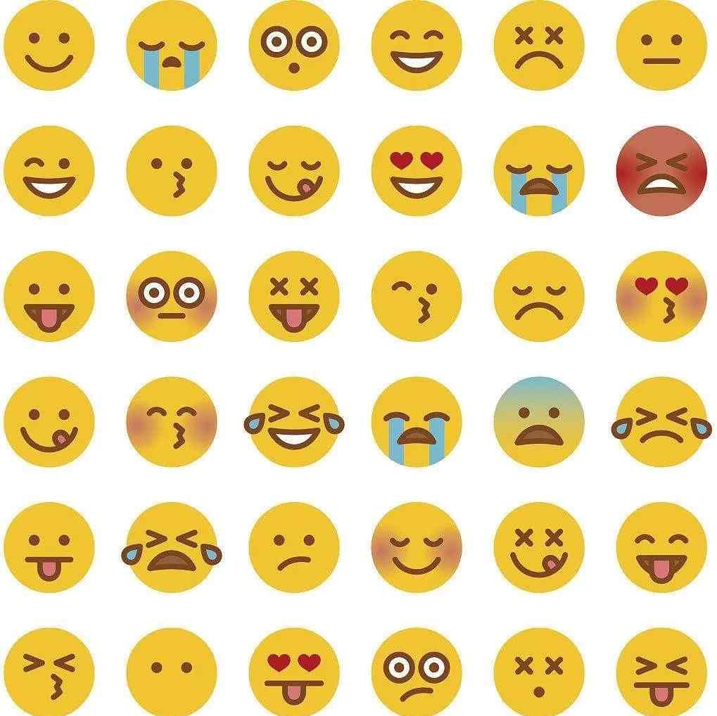 手机符号表情 知道你手机里表情符号的故事吗?