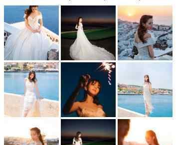 迪丽热巴婚纱照什么样为什么会有婚纱照