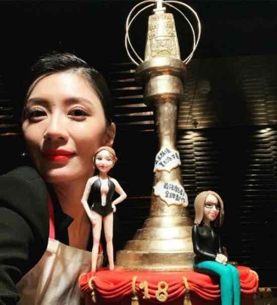 贾静雯45岁生日  获金钟奖视后称:我依然是我
