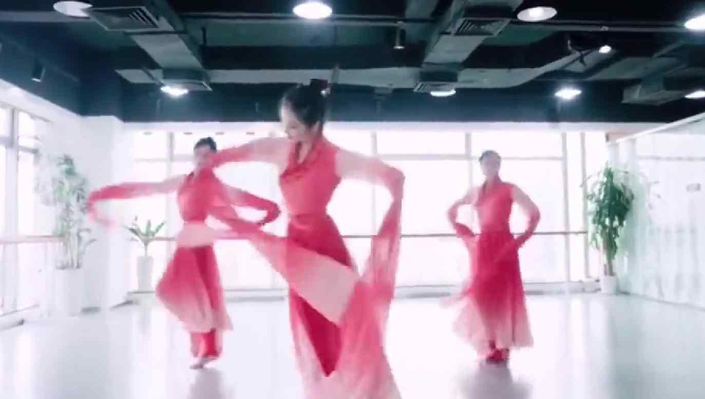 小学生跳惊鸿舞表情满分 网友:百年难遇的练舞奇才