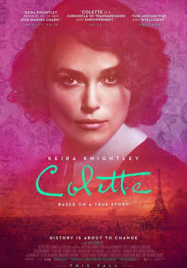 柯莱特 双性恋女作家传记片《柯莱特》影评出炉