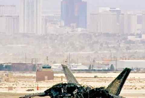 美国空军一架F22战机坠毁 这一事故可谓损失惨痛