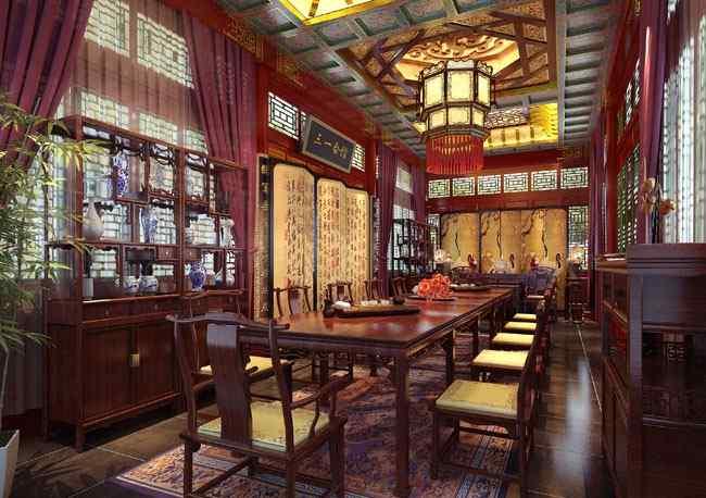 三一style 一种真正贵族的享受—— 三一重工北京会议中心中式别墅设计