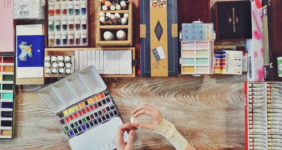 我眼中的色彩 画画人眼中的色彩