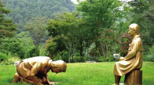韩国新建男子向慰安妇道歉雕像 为什么要这样做