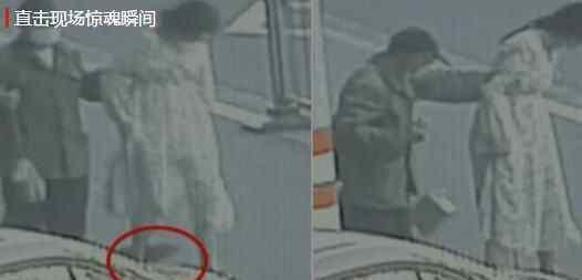 5月3日,浙江一名18岁女孩正在路上走着,婴儿突然从裙底掉出,监控拍下现场惊魂瞬间