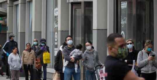 美国新冠病毒确诊接近67万例 为什么这么严重?
