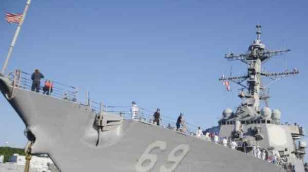 美驱逐舰抵达日本,追加宙斯盾计划顺利达成
