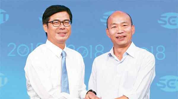 韩国瑜承认九二共识,公开了自己的意识形态