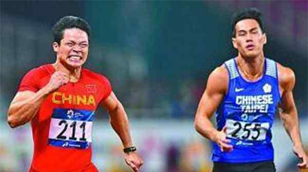 苏炳添获百米冠军,百米大战上中国红再度点燃激情