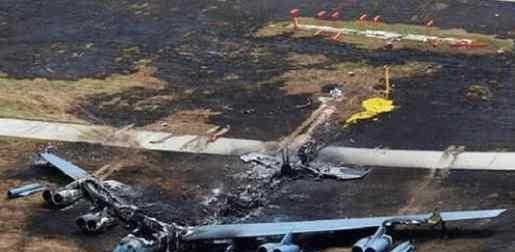 塔利班放猛料,称其击落美军一架B-52战略轰炸机