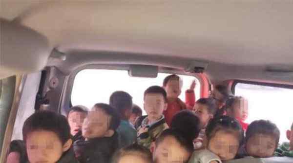 7座车送28名幼儿,严重超员威胁孩子安全