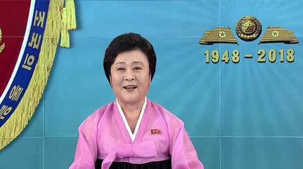 女主播李春姬退休,被称作是朝鲜的国宝级人物