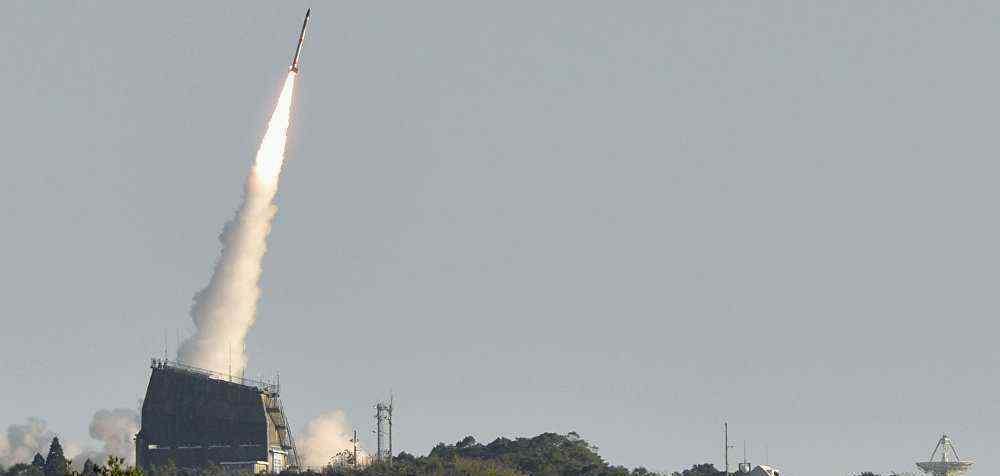 """日本探测火箭""""MOMO-4""""升空后坠海 技术不过关发动机提前关闭"""