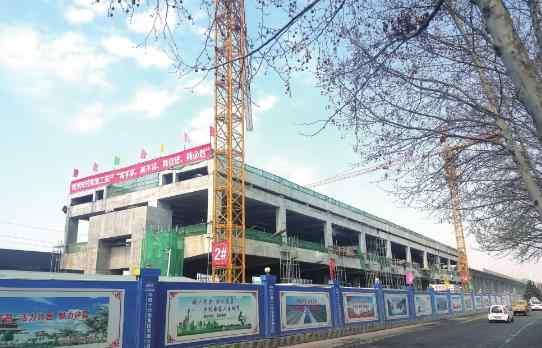 长葛汽车站 郑许市域铁路长葛境内的5座高架车站,预计2020年9月底前完工