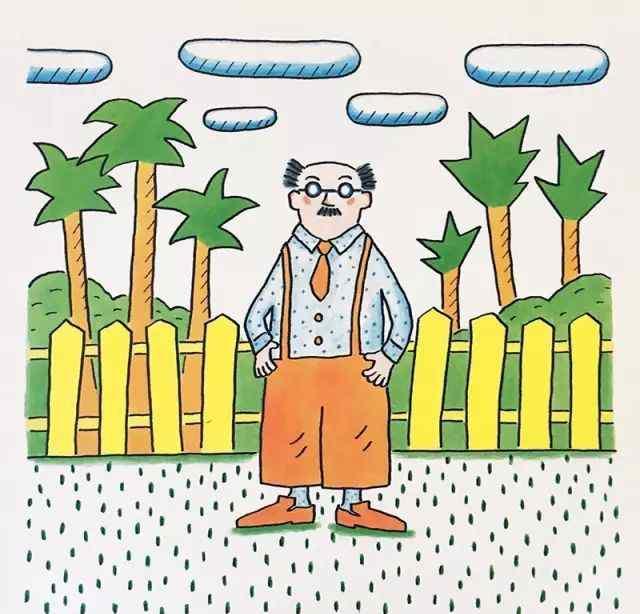 鲁先生 绘本故事《鲁拉鲁先生的院子》
