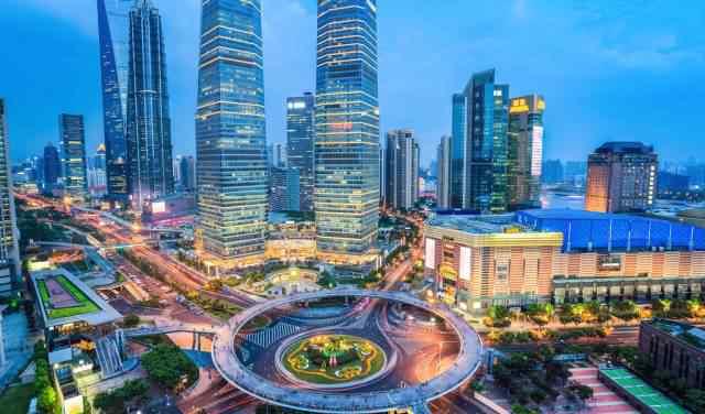 上海广电大厦 9个角落看魔都30年变迁,10年房价涨幅五角场最高,新天地垫底!