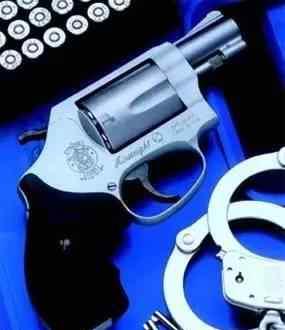 637 【枪】日本警用转轮手枪S&W M37与M637