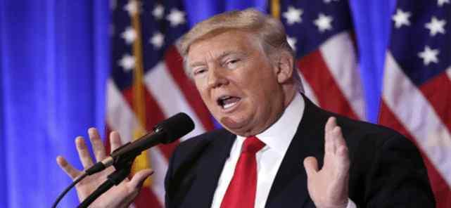 """白宫一句话引爆""""炸弹"""" 特朗普自寻死路再次突破底线"""