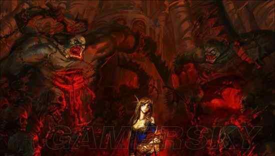 魔兽争霸3阿克蒙德 《魔兽争霸1》至《魔兽争霸3》系列历史科普