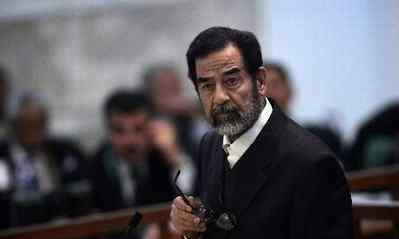行刑官 前伊拉克总统萨达姆执行绞刑,说了句话什么话?行刑官吓了一跳