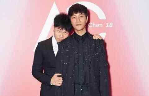 陈坤为儿子庆生日 到底是谁的儿子