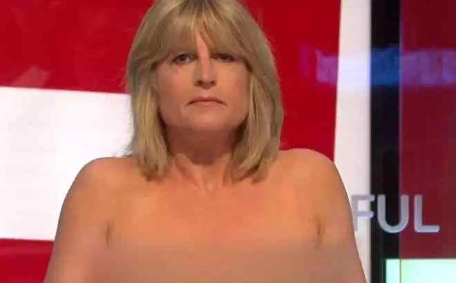 尴尬!高官妹妹在电视上当众脱衣(视频)