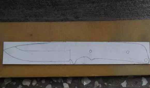 """手工:达人教你""""米卡塔猎刀""""刀柄的制作过程,精美!"""