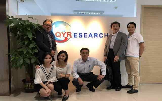 日本小原集团,住友商事参观QYResearch广州分公司并交流合作事宜