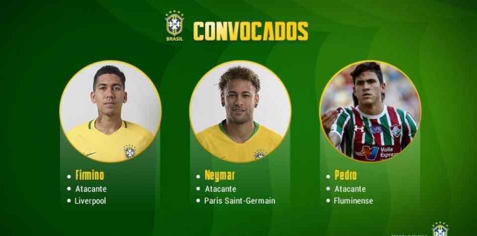 """巴西国家队公布最新大名单!保利尼奥终于被""""抛弃""""了"""