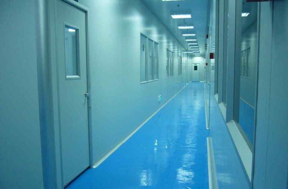 松江厂房的生物洁净室