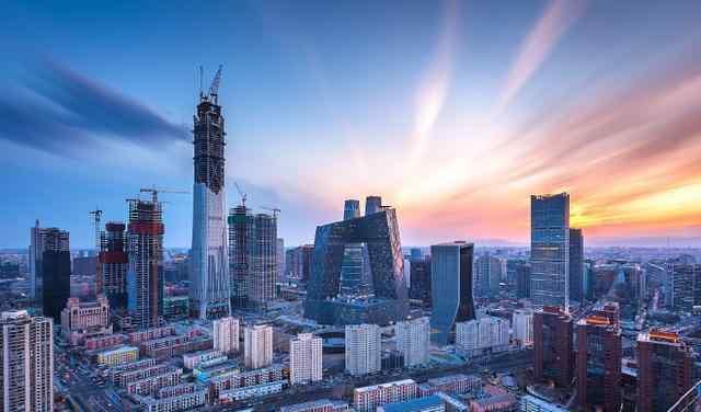 北京又一摩天大楼封顶!投资240亿高500米,将成朝阳CBD第一高楼