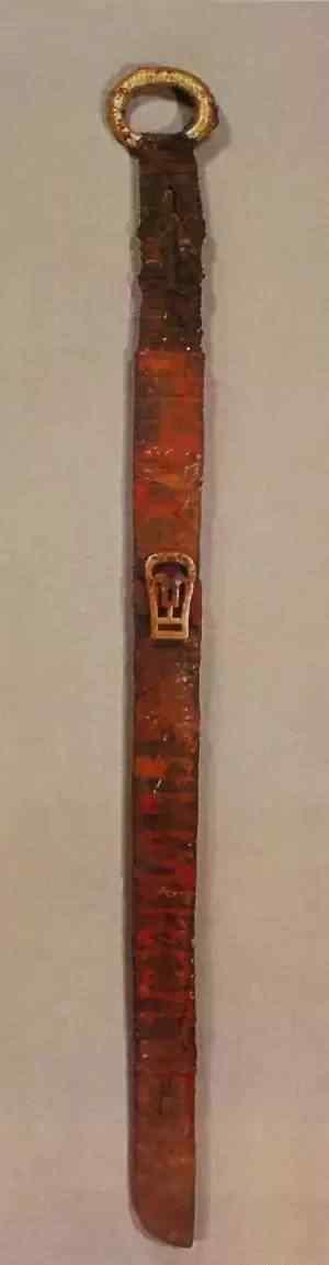 为什么说环首刀是中国战刀的始祖?