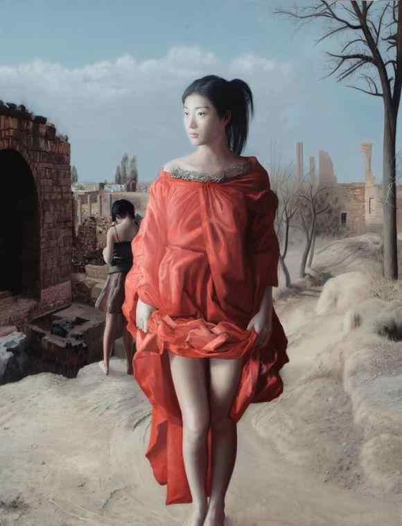 艺术家默涵人体油画欣赏:灵动逼真 美若天仙