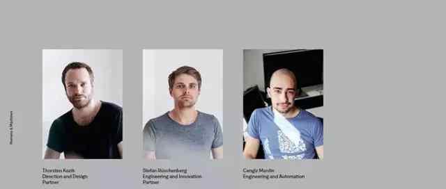 网页设计丨关于团队的创意网页设计