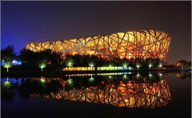去北京旅游必看鸟巢水立方,鸟巢水立方游玩攻略+开放时间+门票费