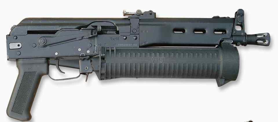 大弹容就是香?俄罗斯研发滚筒PP19野牛冲锋枪的心路历程