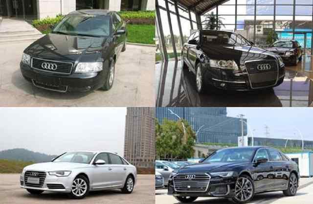官车的发展史,奥迪A6L国产车型经典回顾!每一次换代都十分成功