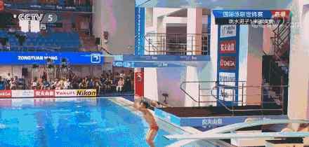 男子跳水1米板王宗源逆转夺冠