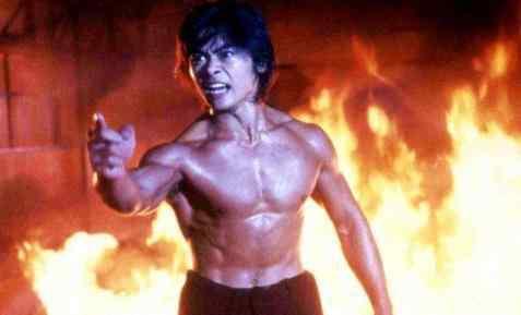 樊少皇最新肌肉照,手臂线条完美,网友:再拍一部《力王2》吧!