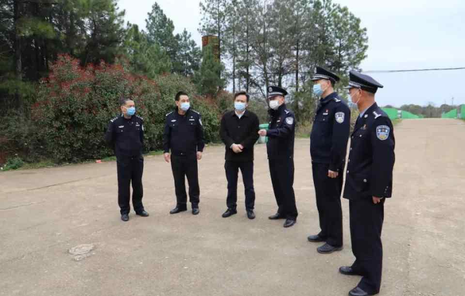 景德镇市副市长、公安局局长邹永胜前往乐平市公安局调研监管工作