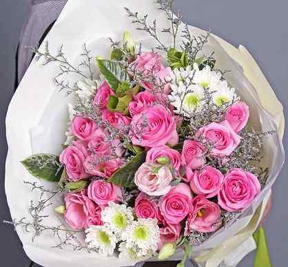 19朵粉玫瑰代表什么