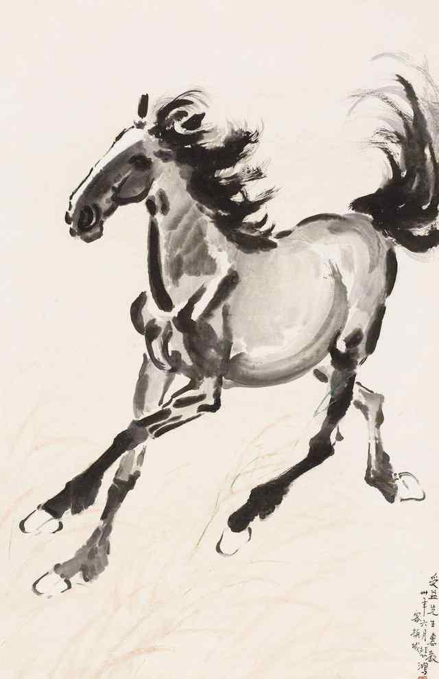 徐悲鸿和这八匹马的故事