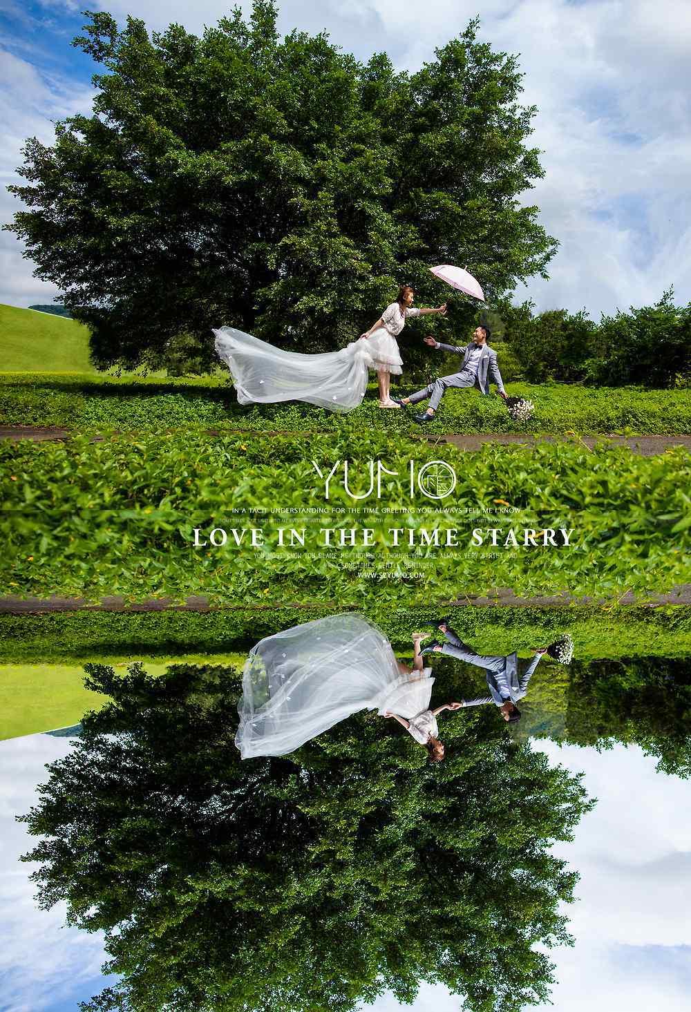 2013创意婚纱照 这组脑洞大开的创意婚纱照,我给满分!