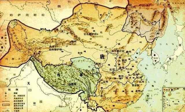 大唐帝国版图 大唐帝国1237万平方公里版图是如何炼成的?