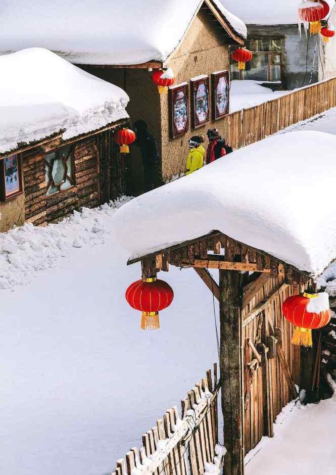 """北方的雪 """"看了北方的雪 忽然就想恋爱了"""""""